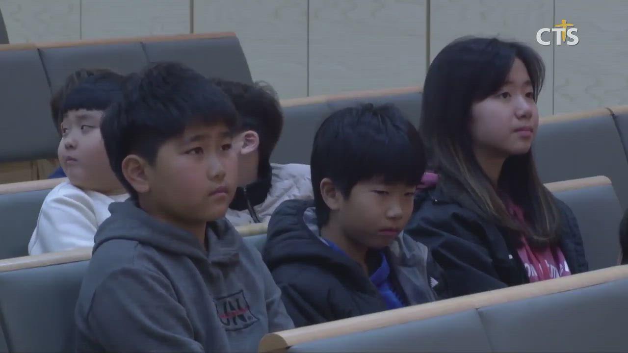 노원 CTS JOY어린이영어합창단이 창단되었어요.